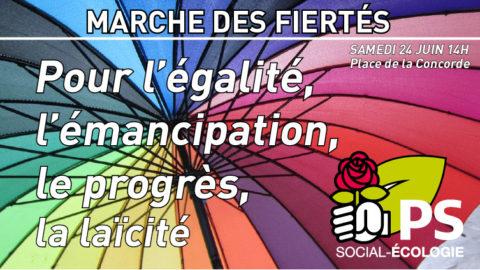 Marche des Fiertés | Gaypride Paris