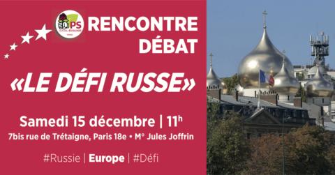 «Le défi russe» | Rencontre-débat 18e