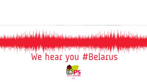 Soutien du PS au Bélarus