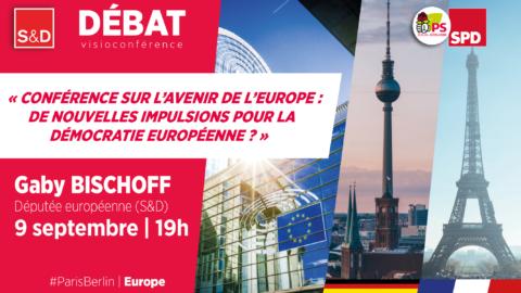 Visioconférence sur l'avenir de l'Europe