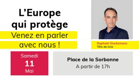 Envie d'Europe | Stand-up sur la place de la Sorbonne !