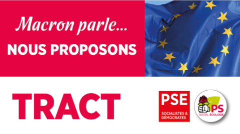 Tract Europe | Nous proposons