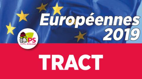 Tract | Inscription sur les listes électorales pour les Européennes