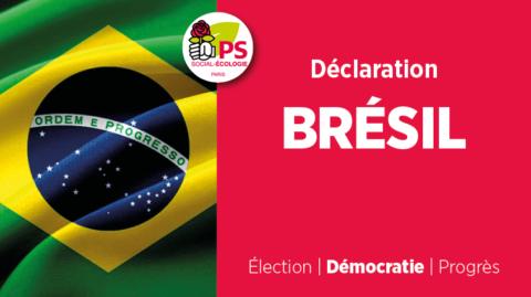 Déclaration sur les élections au Brésil