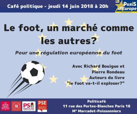 Pour l'harmonisation fiscale européenne : commençons par réguler le système économique du foot