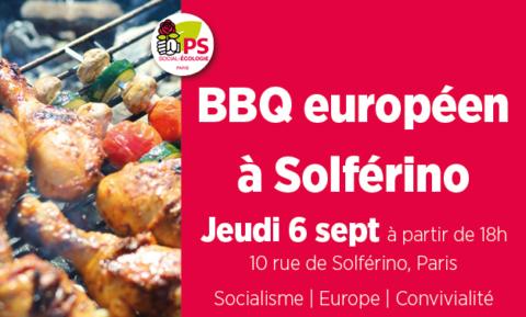 BBQ européen à Solférino