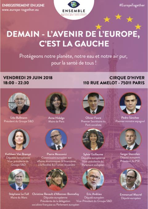 29 juin | Toute l'Europe est à Paris !