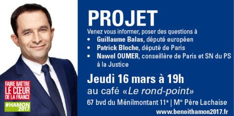 Café Citoyen | Le Projet de Benoît Hamon