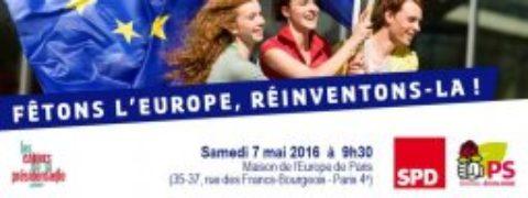 Fêtons l'Europe ! Réinventons la !