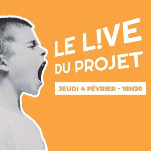"""""""Live du projet"""" sur la question du travail"""