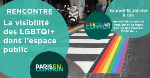 Les visibilités des personnes LGBT+ dans l'espace public