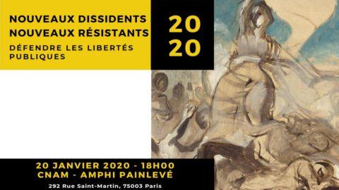 Nouveaux Dissidents, Nouveaux Résistants – Conférence Débat