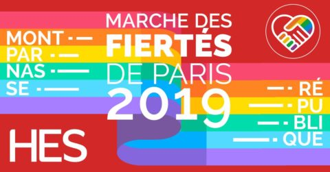 Marche des fiertés de Paris 2019