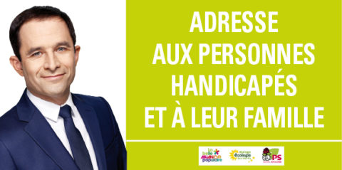 Handicap | Les propositions de Benoît Hamon