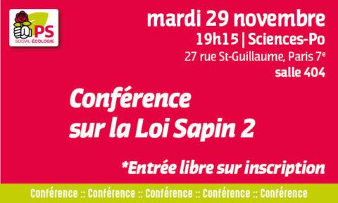 Conférence sur la Loi Sapin 2