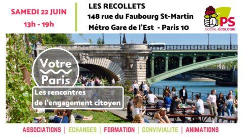 #VotrePariS | Les rencontres de l'engagement citoyen