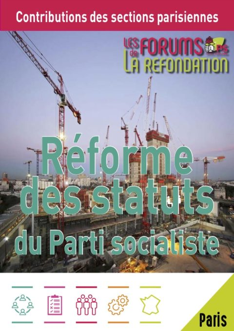 Livret parisien de la #RefondationPS