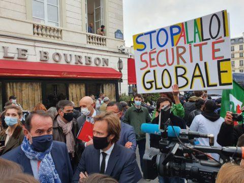 Les socialistes mobilisés contre la proposition de loi sécurité globale