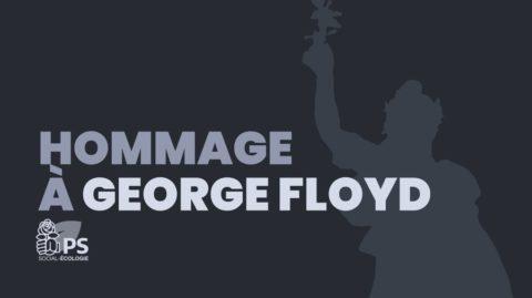 Hommage à George Floyd