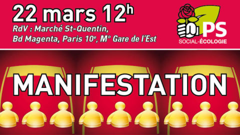 Manifestation 22 mars