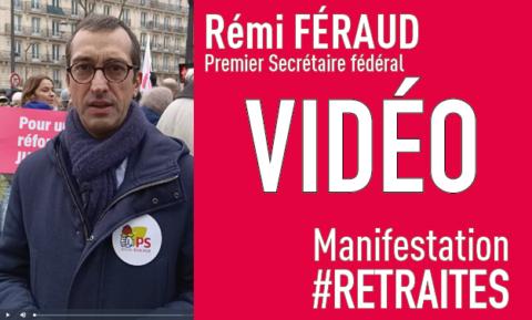 #Retraites | Pourquoi les socialistes parisiens participent à la mobilisation (vidéo)