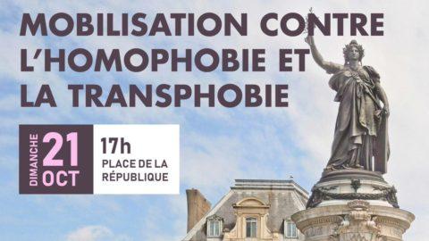 Mobilisation contre les LGBTphobies