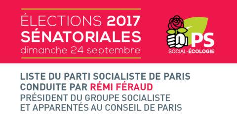 Sénatoriales 2017 | Résultats parisiens
