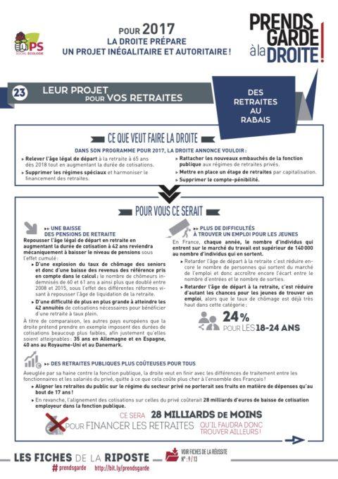 Prends garde à la droite #23 : Des retraites au rabais