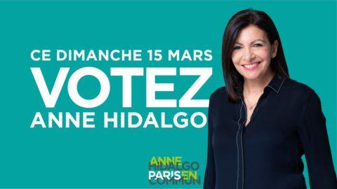 Le 15 mars, votez pour Anne Hidalgo !