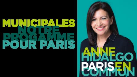 Notre programme pour Paris | Paris en Commun