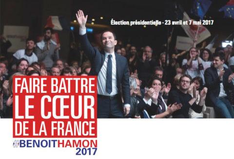 Benoît HAMON : un futur désirable pour faire battre le coeur de la France