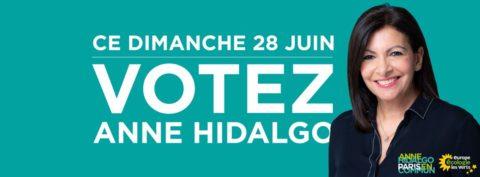 Dimanche 28 juin, votons pour les listes Paris en Commun