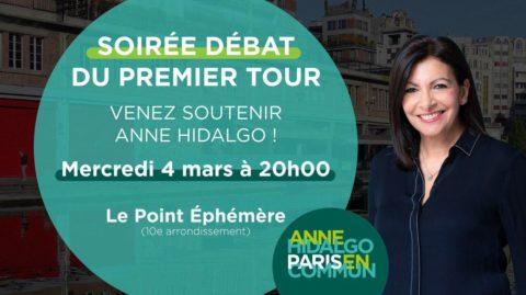 Soirée Débat TV | Anne Hidalgo