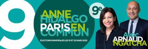 9e | Lancement de campagne d'Arnaud Ngatcha