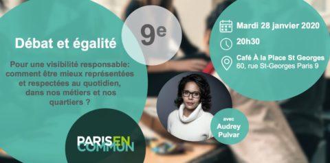 Café débat : égalité et visibilité