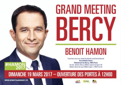 Meeting Benoît HAMON à Paris | 19 mars