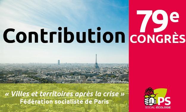 contribution Fédération de Paris du PS « Villes et territoires après la crise »