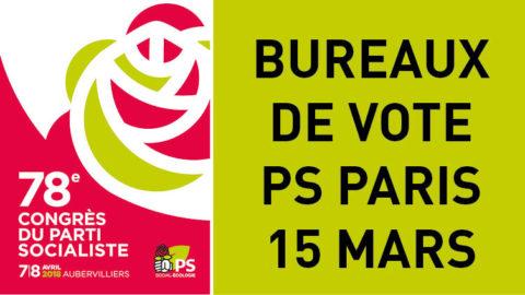 Lieux de vote – 15 mars
