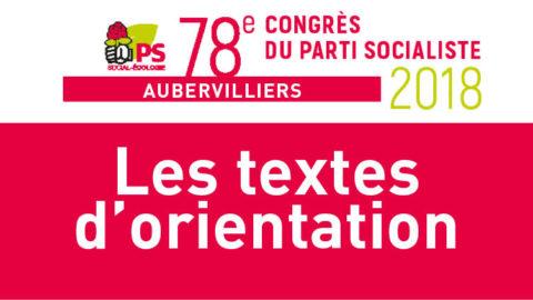 Textes d'orientation du congrès d'Aubervilliers