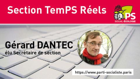 TemPS Réels a un nouveau secrétaire de section