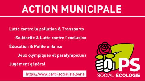 Action municipale : Les Parisiens satisfaits (Ifop)