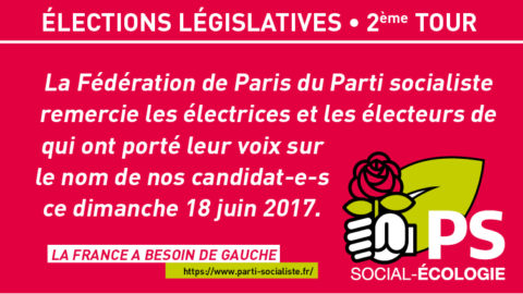 #Legislatives2017 | Résultats