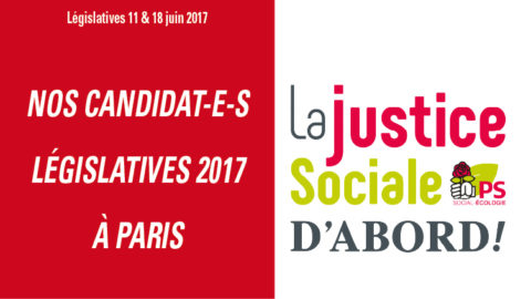 Les candidat-e-s investi-e-s du Parti socialiste à Paris