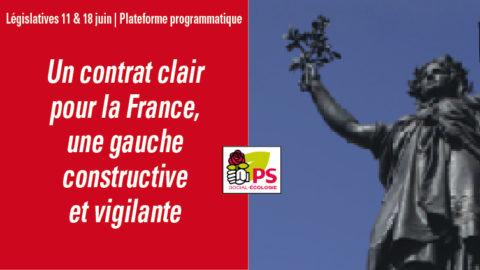 #Législatives | Plateforme programmatique