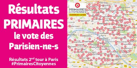 Le vote des Parisien-ne-s au second tour des Primaires citoyennes