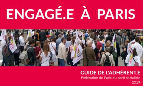 Guide de l'Adhérent•e du Parti socialiste à Paris
