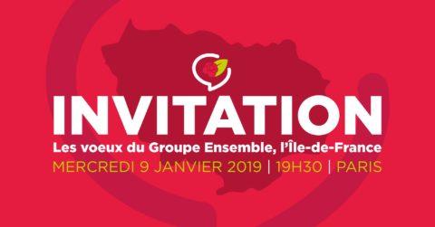 Cérémonie de vœux des socialistes franciliens