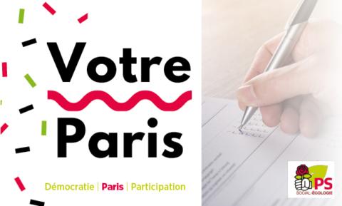 L'enquête en ligne pour dire toutes vos idées pour Paris