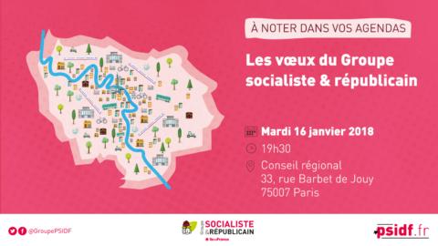 Vœux du Groupe socialiste francilien