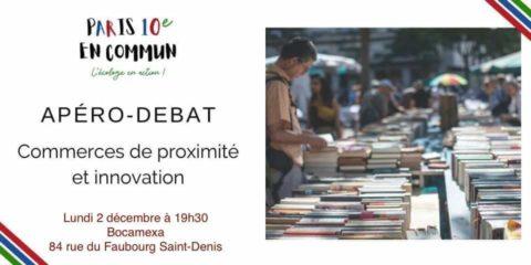 Apéro-débat : commerces de proximité et innovation